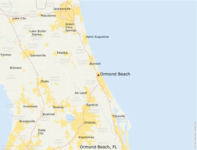 Ormond Beach Fl Sperling