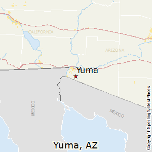 Yuma,Arizona Map