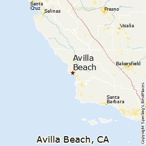 Avila Beach Ca Sperling