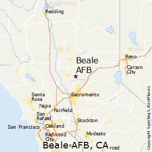 Comparison Edwards AFB California Beale AFB California