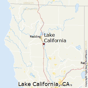 Lake_California,California Map