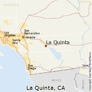 Best Places To Live In La Quinta California - Southern california map la quinta
