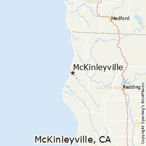 McKinleyville,California Map