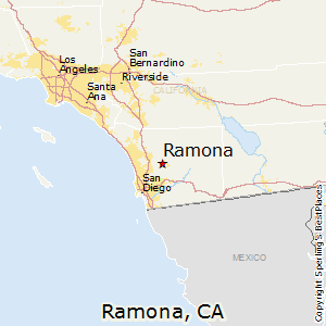 Comparison Yucaipa California Ramona California
