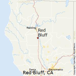 Red_Bluff,California Map