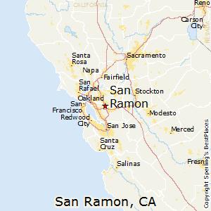 San_Ramon,California Map