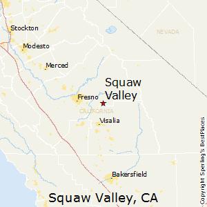 Comparison Squaw Valley California Brea California - Where is brea california on the california map