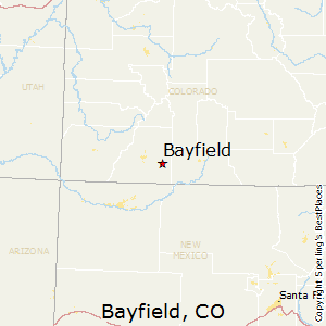 Bayfield,Colorado Map