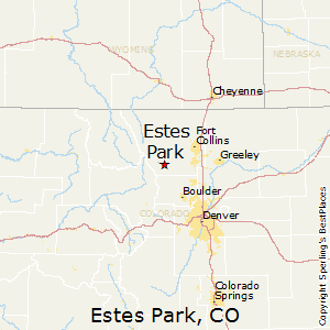 Estes_Park,Colorado Map