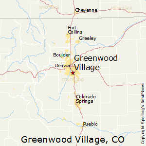 Greenwood_Village,Colorado Map