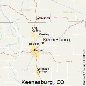 Comparison Keenesburg Colorado Estes Park Colorado