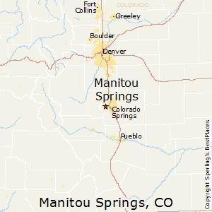 Manitou_Springs,Colorado Map