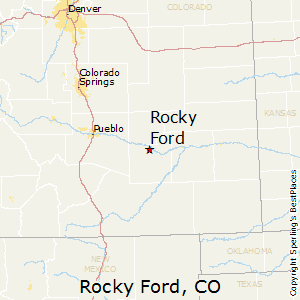 Rocky_Ford,Colorado Map