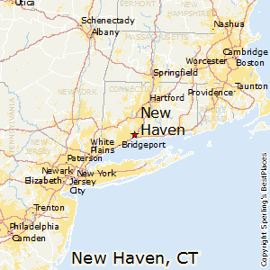 New_Haven,Connecticut Map