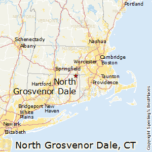 North_Grosvenor_Dale,Connecticut Map