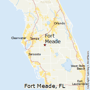 Fort_Meade,Florida Map