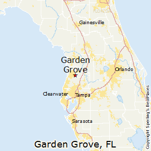 Garden_Grove,Florida Map