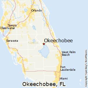 florida map okeechobee
