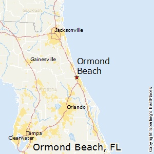Ormond_Beach,Florida Map