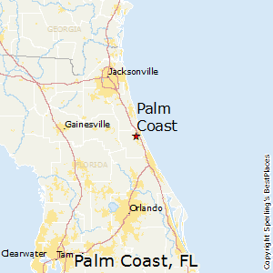 Palm_Coast,Florida Map
