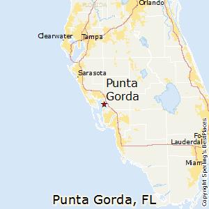 Punta_Gorda,Florida Map