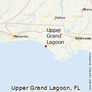 Upper_Grand_Lagoon,Florida Map