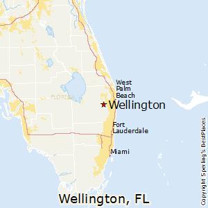 Wellington,Florida Map
