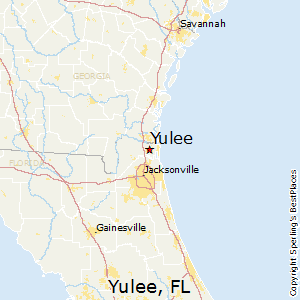 Yulee,Florida Map