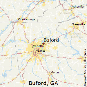 Best Places To Live In Buford Georgia - Map of georgia cities