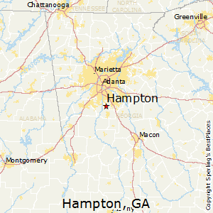Comparison Jackson Georgia Hampton Georgia - Jackson georgia map