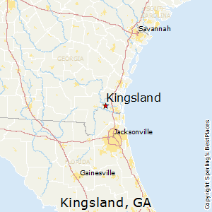 Kingsland,Georgia Map