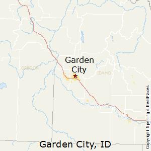 Garden_City,Idaho Map