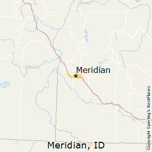 Meridian,Idaho Map