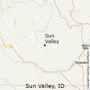 Sun_Valley,Idaho Map