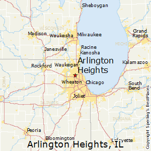 Arlington_Heights,Illinois Map