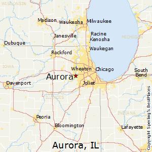 Comparison Evanston Illinois Aurora Illinois