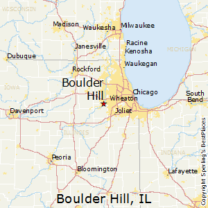 Boulder_Hill,Illinois Map