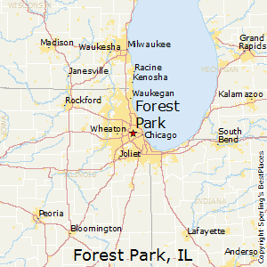 Forest_Park,Illinois Map