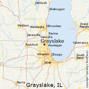 Grayslake,Illinois Map
