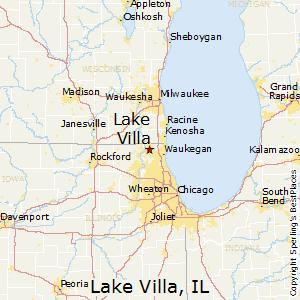 Lake_Villa,Illinois Map