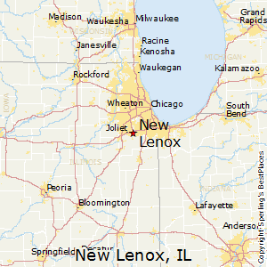 New_Lenox,Illinois Map