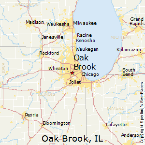 Oak_Brook,Illinois Map