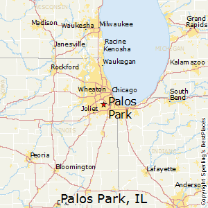 Palos_Park,Illinois Map