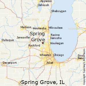 Spring_Grove,Illinois Map