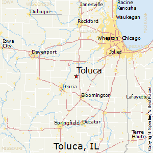 Best Places To Live In Toluca Illinois - Toluca map