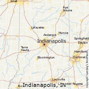 Comparison Portland Oregon Indianapolis Indiana