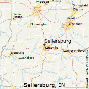 Sellersburg,Indiana Map