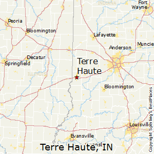 Terre_Haute,Indiana Map
