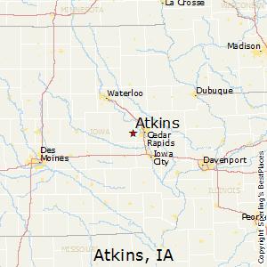 Comparison Norway Iowa Atkins Iowa - Norway iowa map