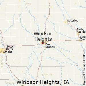 zip code windsor heights iowa